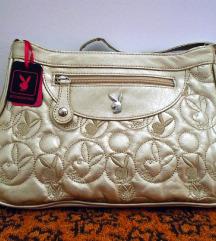 Arany színű Playboy táska,új
