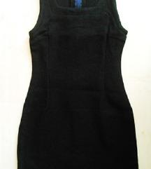 Vastag, fekete ruha, S