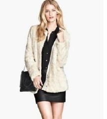 Vintage vékonyabb bunda kabát
