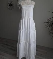 Vászon maxi ruha