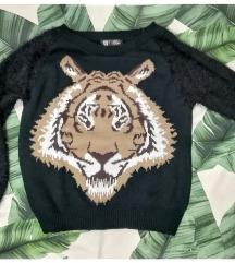 S-es tigrises pulóver