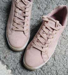 Deichmann, rózsaszín cipő
