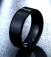 michael kors szerű fekete acél steel gyűrű