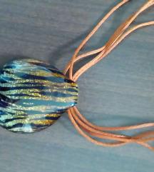 Muránói  üveg  nyaklánc
