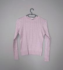 Pasztellrózsaszín pulcsi