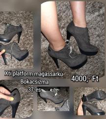 Xti platformos magassarkú bokacsizma