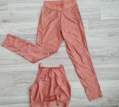Lazacszínű fitness edzős ruha, S