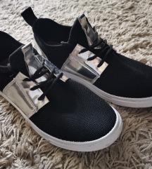 Ezüst króm, fekete cipő 🤍🖤 csere is!!