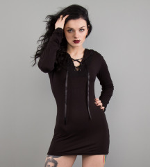 Killstar fekete ruha