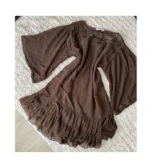 ZARA barna ruha