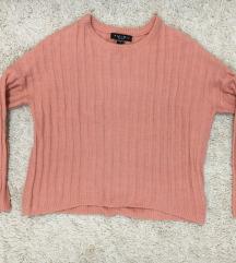 Rózsaszín pulóver