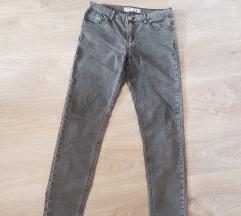 New Yorker szürke skinny nadrág,új