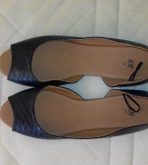 Nyitott balerina cipő