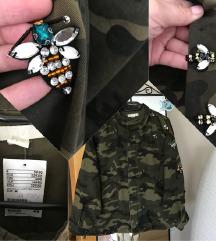 H&M khaki köves dzseki