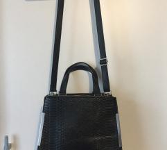 Új, fekete, nagy alakú, elegáns táska