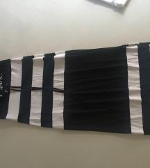 Mayo Chix fekete fehér csíkos csőruha