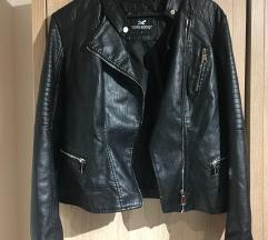 Műbőr kabát L