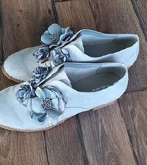 Kék graceland virágos cipő