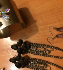 Karkötő és fülbevalók