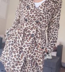 ÚJ CÍMKÉS Collectif leopárd mintás kabát