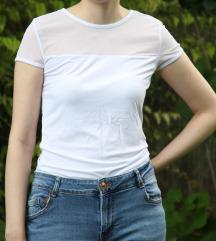 Fehér mesh póló