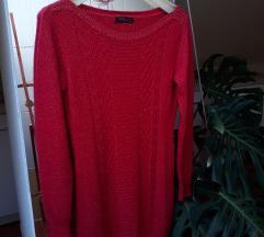 Piros kötött ruha