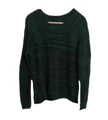NewYorker kötött zöld pulcsi M-L