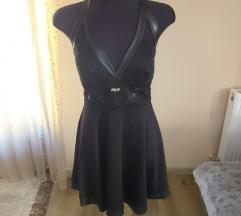 My77 új cimkés fekete ruha M-es