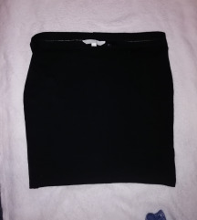 Fekete basic szoknya