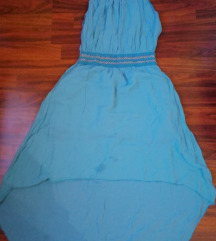 Kék görög stílusú nyári ruha