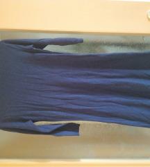 Kék garbós ruha