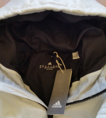 Új eredeti Adidas fehér kabát dzseki kapucnis