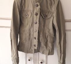 Khaki őszi dzseki