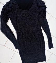 Fekete csillogós ruha 💃😊  38-40 LEÁRAZÁS