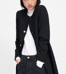 Zara M fekete kabát