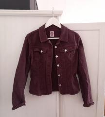 Vintage bordó dzseki