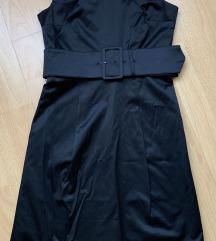 H&M fekete ruha övvel