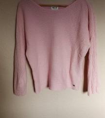 Halvány rózsaszín Mustang kötött pulcsi