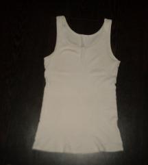 fehér bordázott trikó
