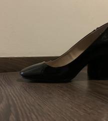 ESPRIT fekete  lakk alkalmi cipő POSTAKÖLTSÉGGEL!