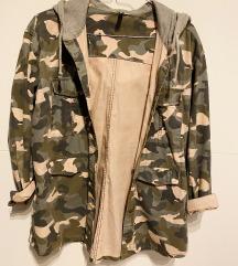 Camouflage vékony dzseki