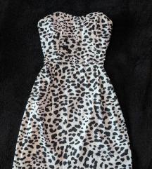 H&M leopárd mintás miniruha