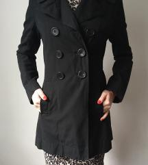 Fekete ballon kabát
