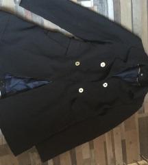 34-es H&M fekete kabát