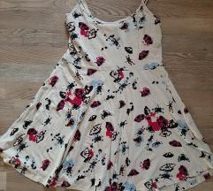 H&M pillangós skater ruha