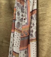 Zara hosszú színes maxi ruha S