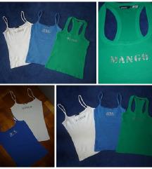 Mango felső trikó atléta S-M zöld