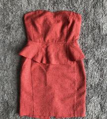 Reserved peplumos ruha