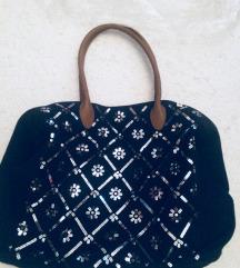 Abercrombie nagy flitteres táska