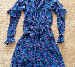Mohito lila virágos ruha